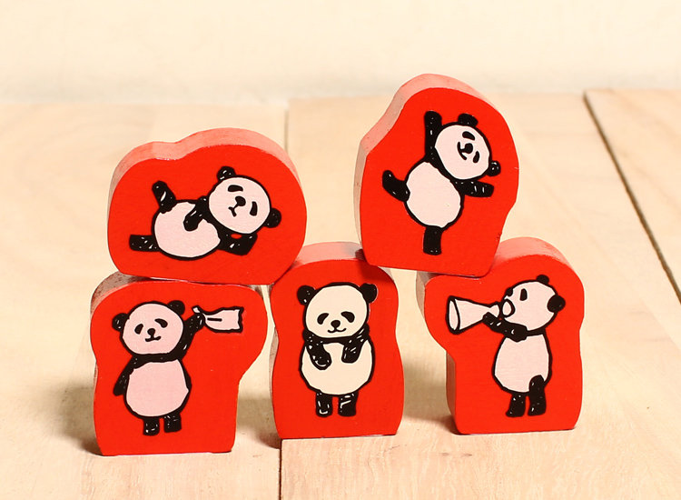 Kodomo 小孩牌 小豬系 印章 手作卡片