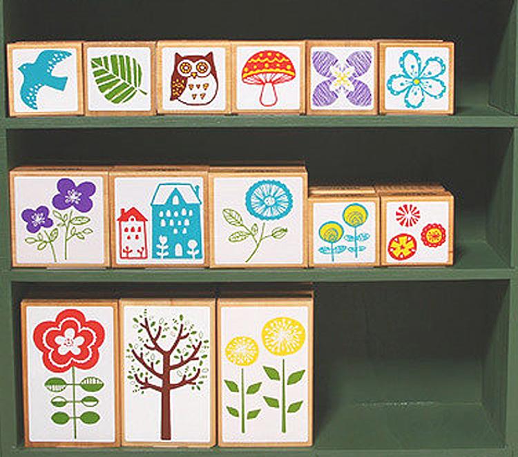 日本 Kodomo 印章 北歐系列