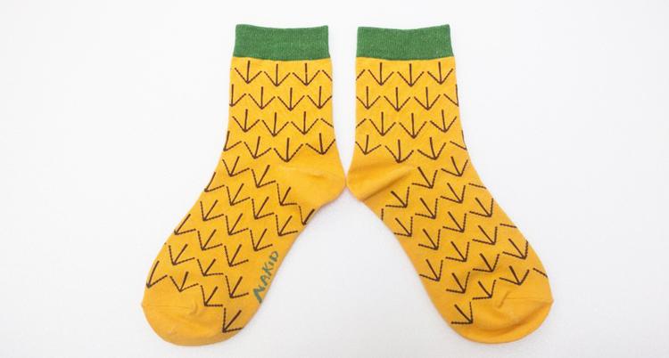 台灣製 NAKID 圖樣彩襪 鉛筆