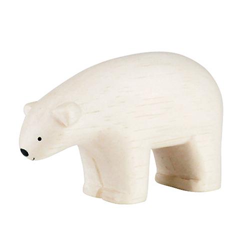 日本 T-Lab 木作 手工小動物  北極熊