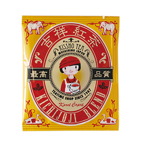 Karel Capek 山田詩子紅茶店 小包裝 小茶包 5P  吉祥紅茶 卡雷爾恰佩克