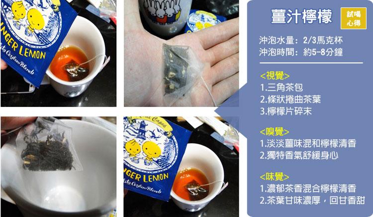 Karel Capek 山田詩子紅茶店 薑汁玲檬紅茶 小包裝 小茶包 卡雷爾恰佩克