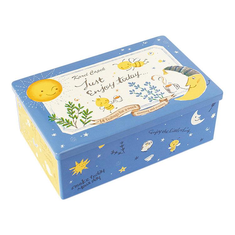 Karel Capek 山田詩子紅茶店 小茶包 紀念款  鐵盒 禮盒 混合口味 卡雷爾恰佩克