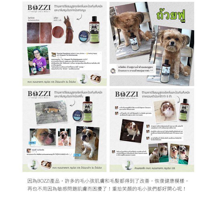 泰國Bozzi全天然草本狗狗洗毛精 市面上缺乏選擇