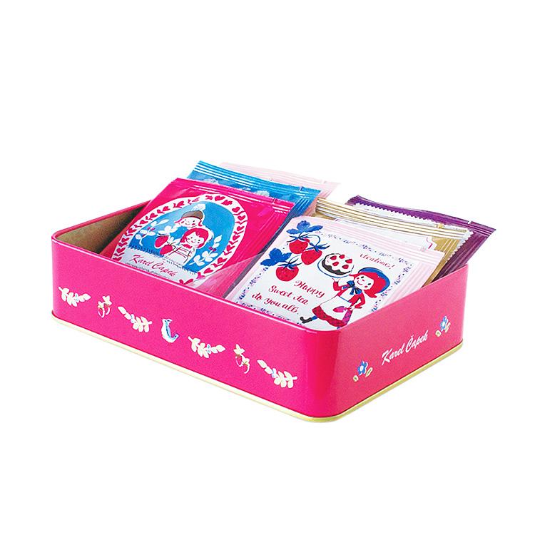 Karel Capek 山田詩子紅茶店 小茶包 紀念款  鐵盒 禮盒 混合口味 女孩的下午茶 卡雷爾恰佩克