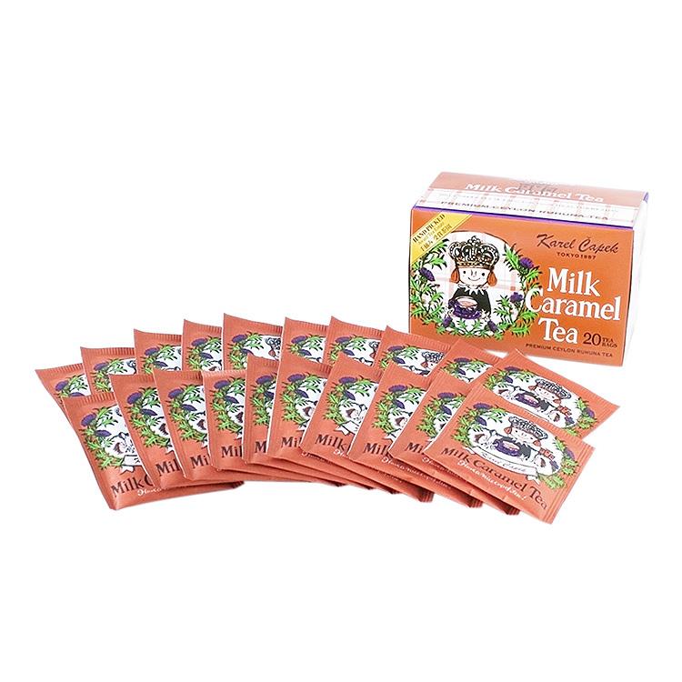 Karel Capek 山田詩子紅茶店 小包裝 小茶包 20P  焦糖奶香紅茶 紙包裝 優惠組 卡雷爾恰佩克