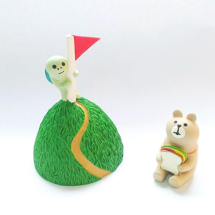 日本 Decole 溫柔動物 烏龜 果嶺 高爾夫球 小擺飾 Pattern Safari 狩獵隊 雜貨