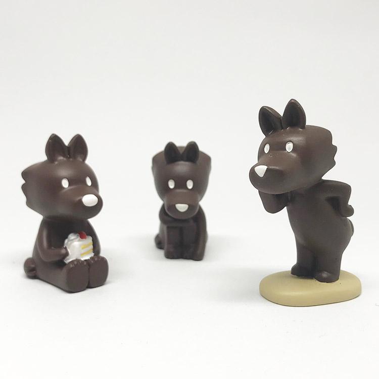 日本 Decole 雜貨 小擺飾 小紅帽 大野狼 Pattern Safari 狩獵隊 公仔