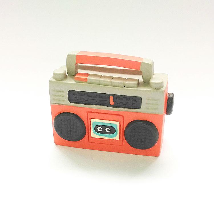 日本 Decole 雜貨 小擺飾 復古收音機 Pattern Safari 狩獵隊 公仔