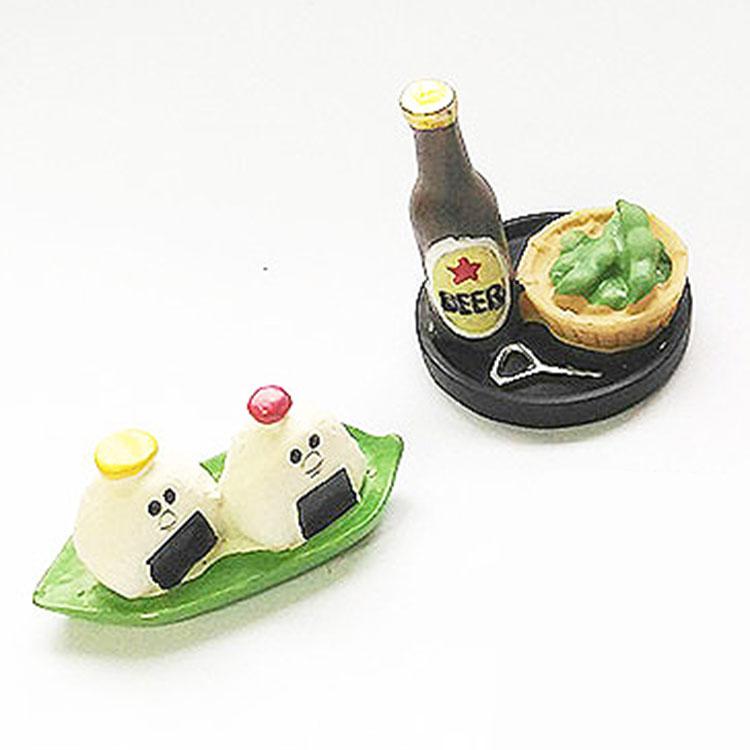 日本 Decole 雜貨 小擺飾 啤酒 飯糰 便當 Pattern Safari 狩獵隊 公仔