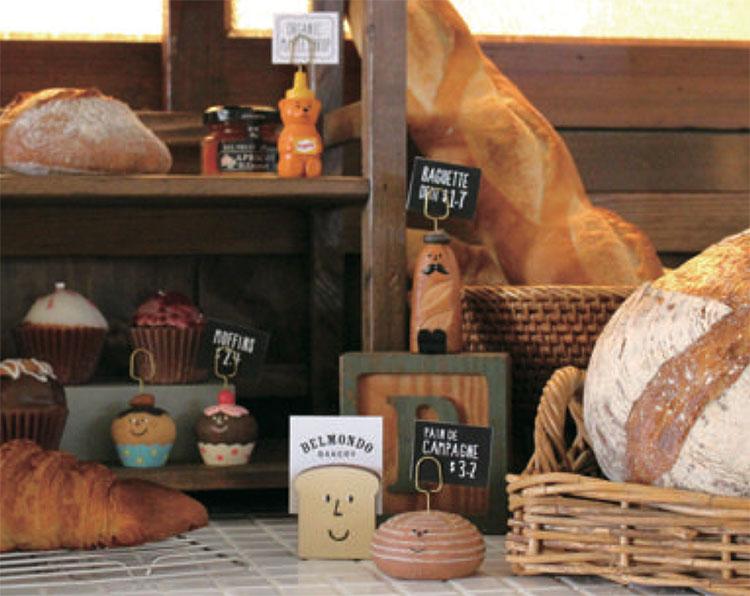 日本 Decole 雜貨 小擺飾 麵包 名片夾 野餐  Pattern Safari 狩獵隊 公仔
