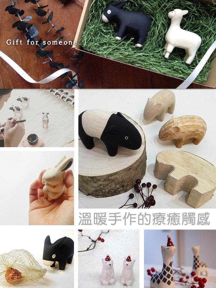 日本 T-Lab 木作 手工 小動物 2016 新款