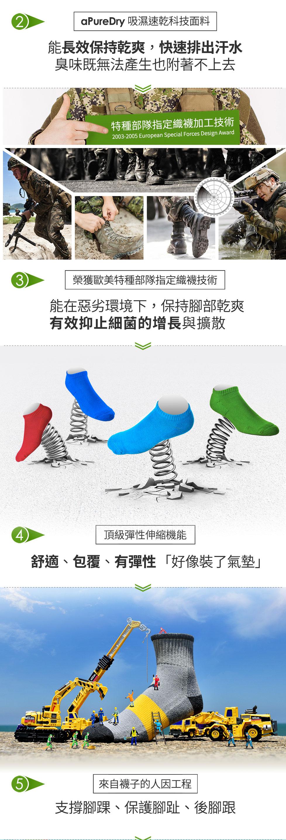 去除腳臭?只要一招選對襪子