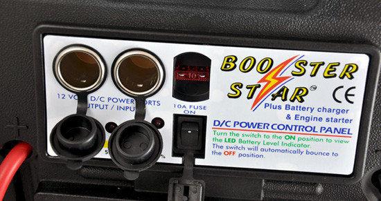 商品说明 5段led电池电量指示灯,安全开关切断跳线电源.